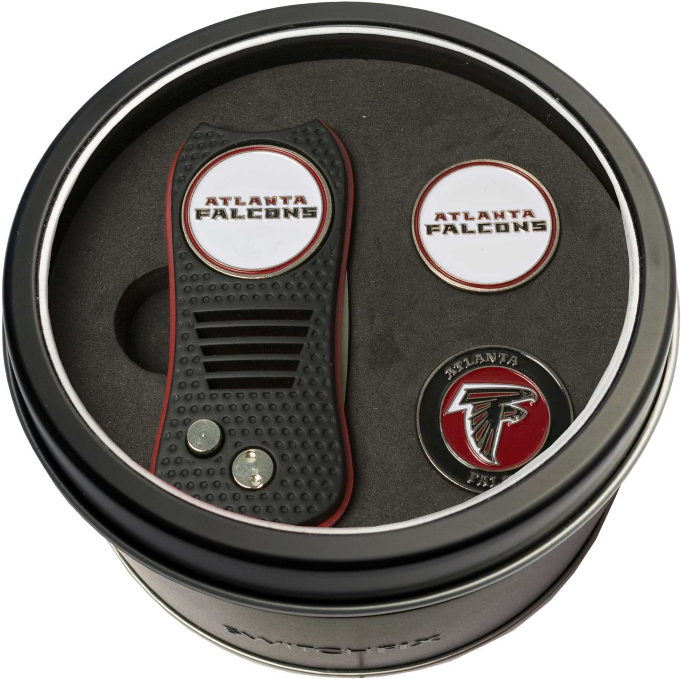 Team Golf Atlanta Falcons Switchfix Divot Tool and Ball Markers Set