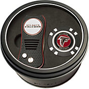 Team Golf Atlanta Falcons Switchfix Divot Tool and Poker Chip Ball Marker Set