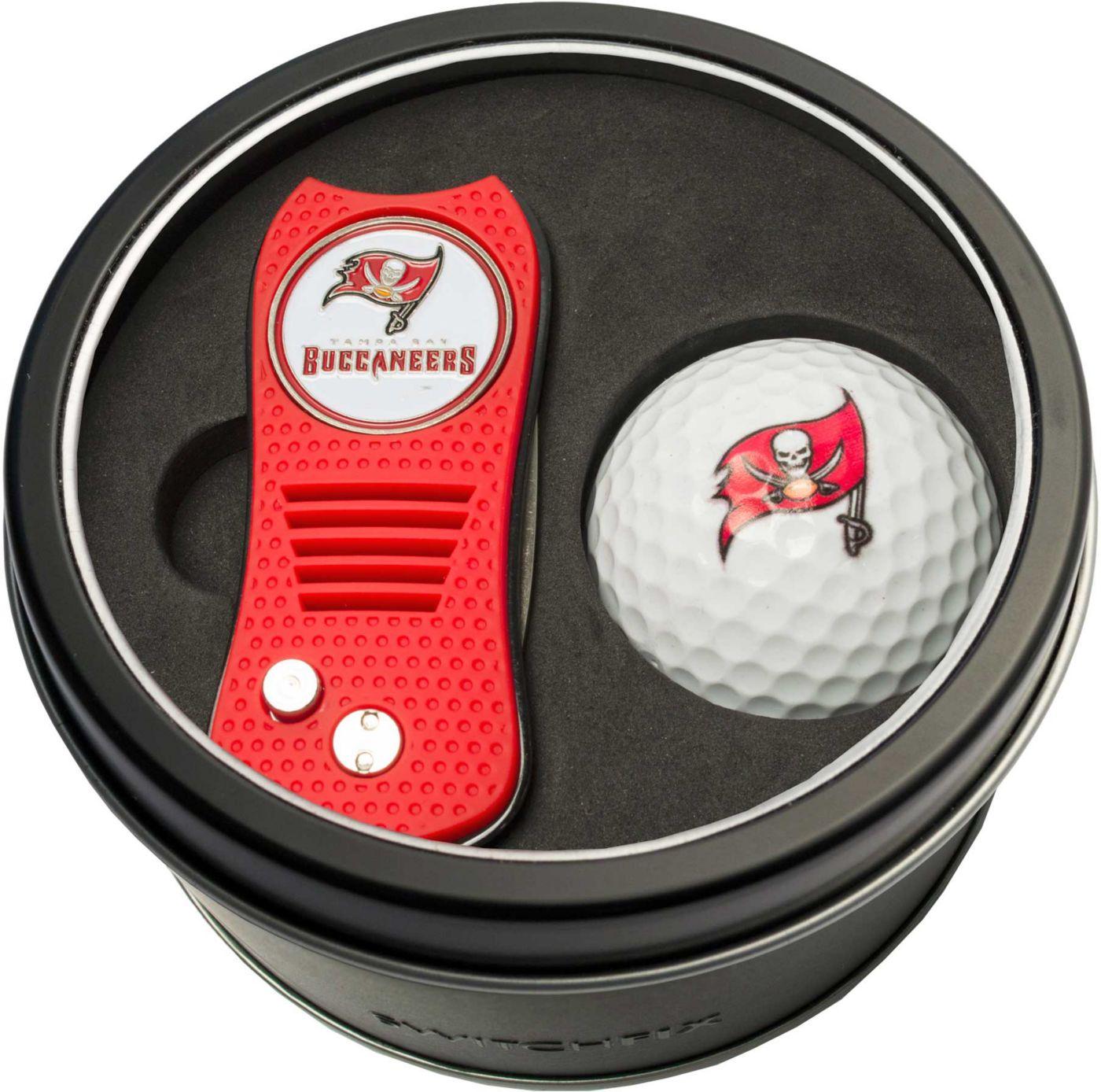 Team Golf Tampa Bay Buccaneers Switchfix Divot Tool and Golf Ball Set