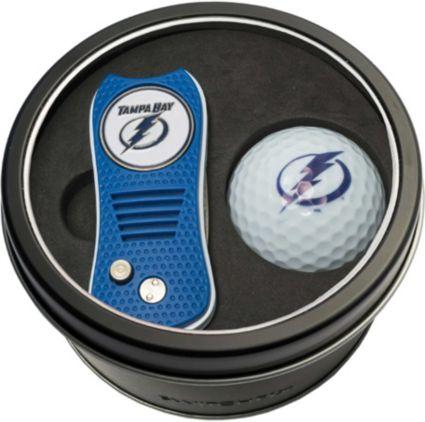 Team Golf Tampa Bay Lightning Switchfix Divot Tool and Golf Ball Set
