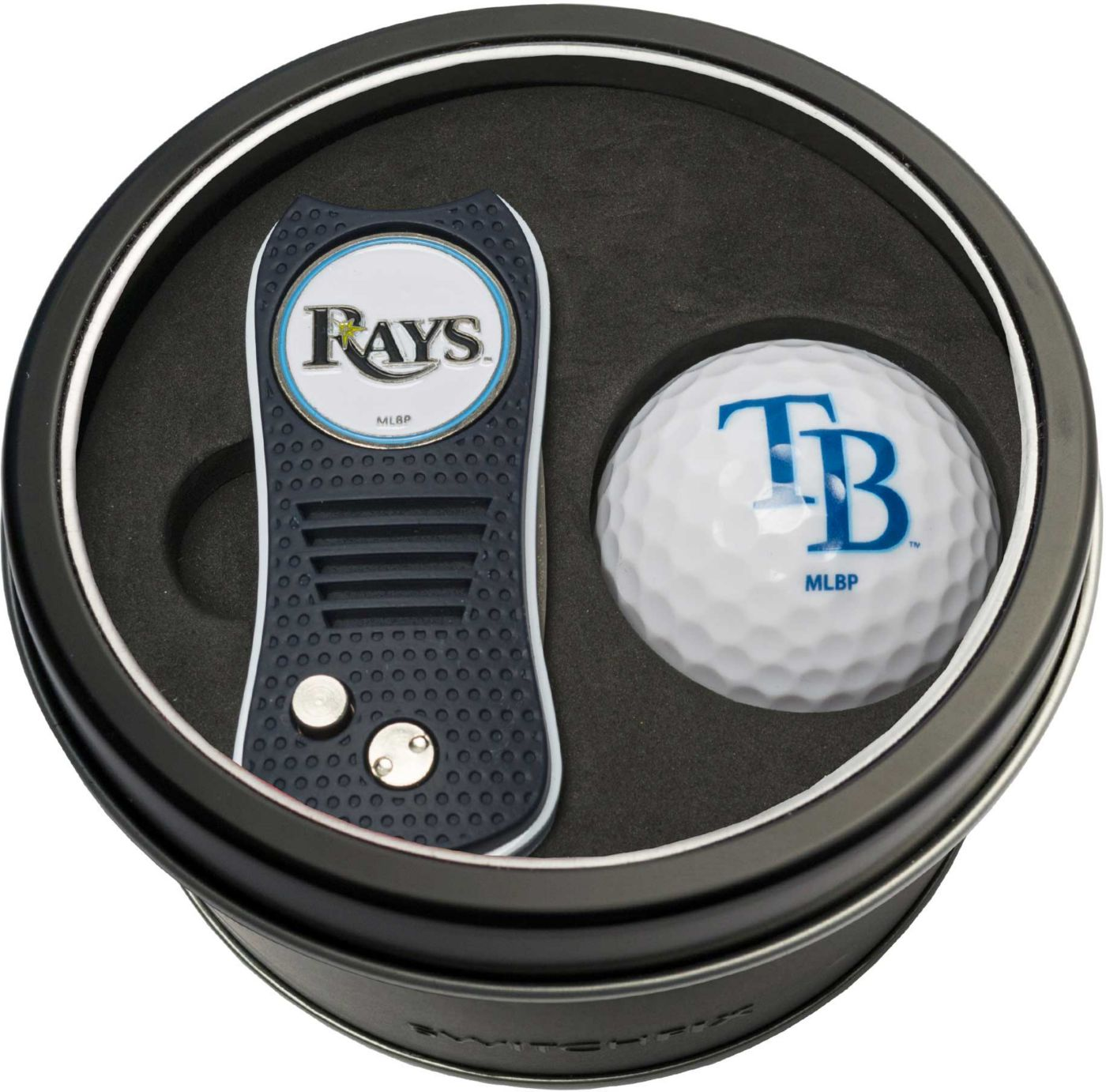 Team Golf Tampa Bay Rays Switchfix Divot Tool and Golf Ball Set