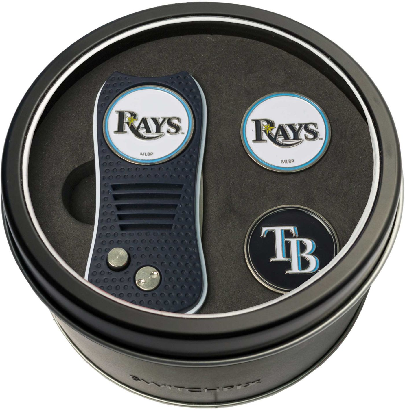 Team Golf Tampa Bay Rays Switchfix Divot Tool and Ball Markers Set