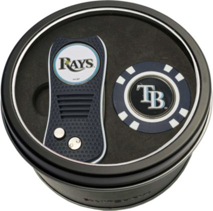Team Golf Tampa Bay Rays Switchfix Divot Tool and Poker Chip Ball Marker Set