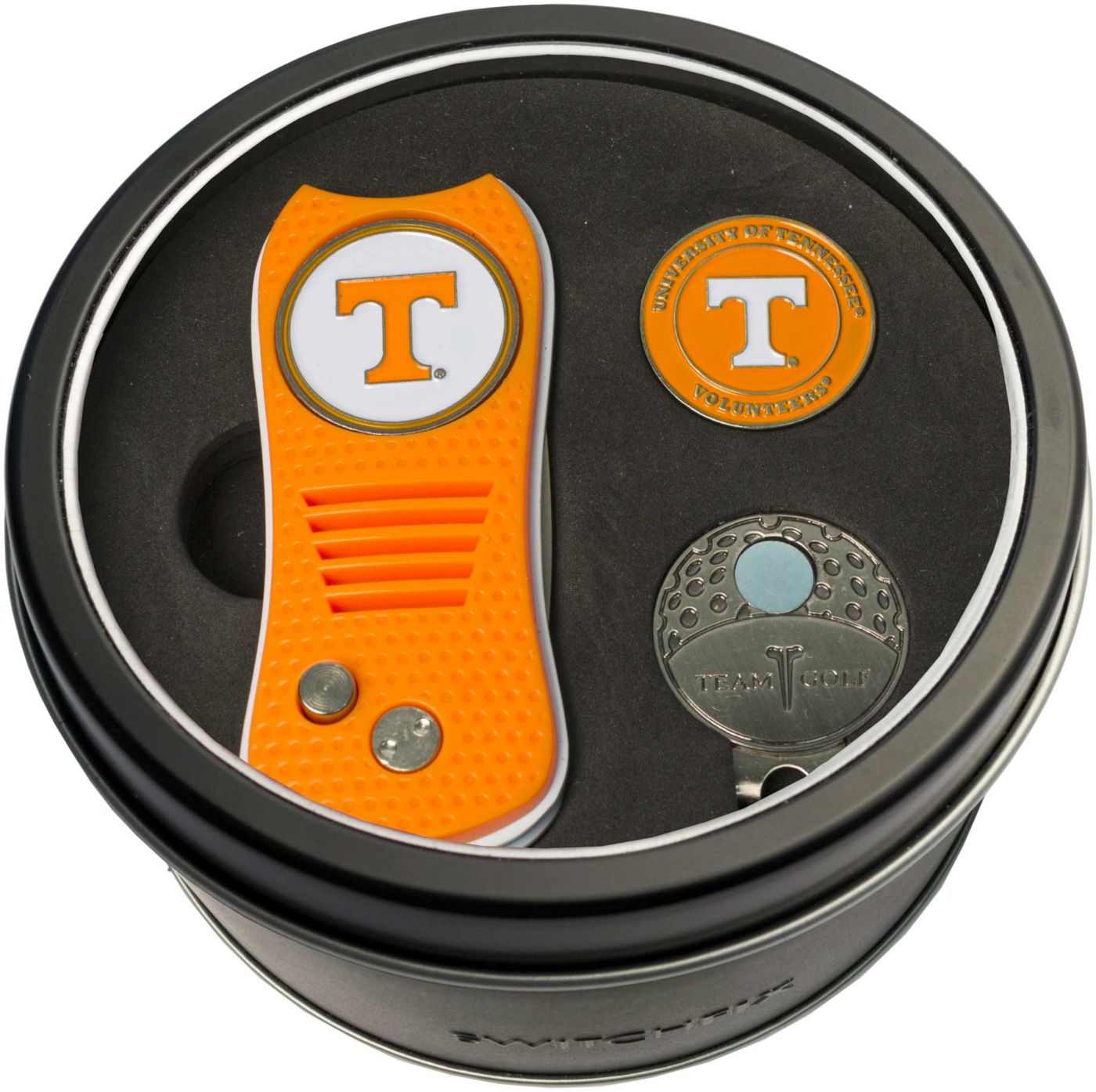 Team Golf Tennessee Volunteers Switchfix Divot Tool and Cap Clip Set