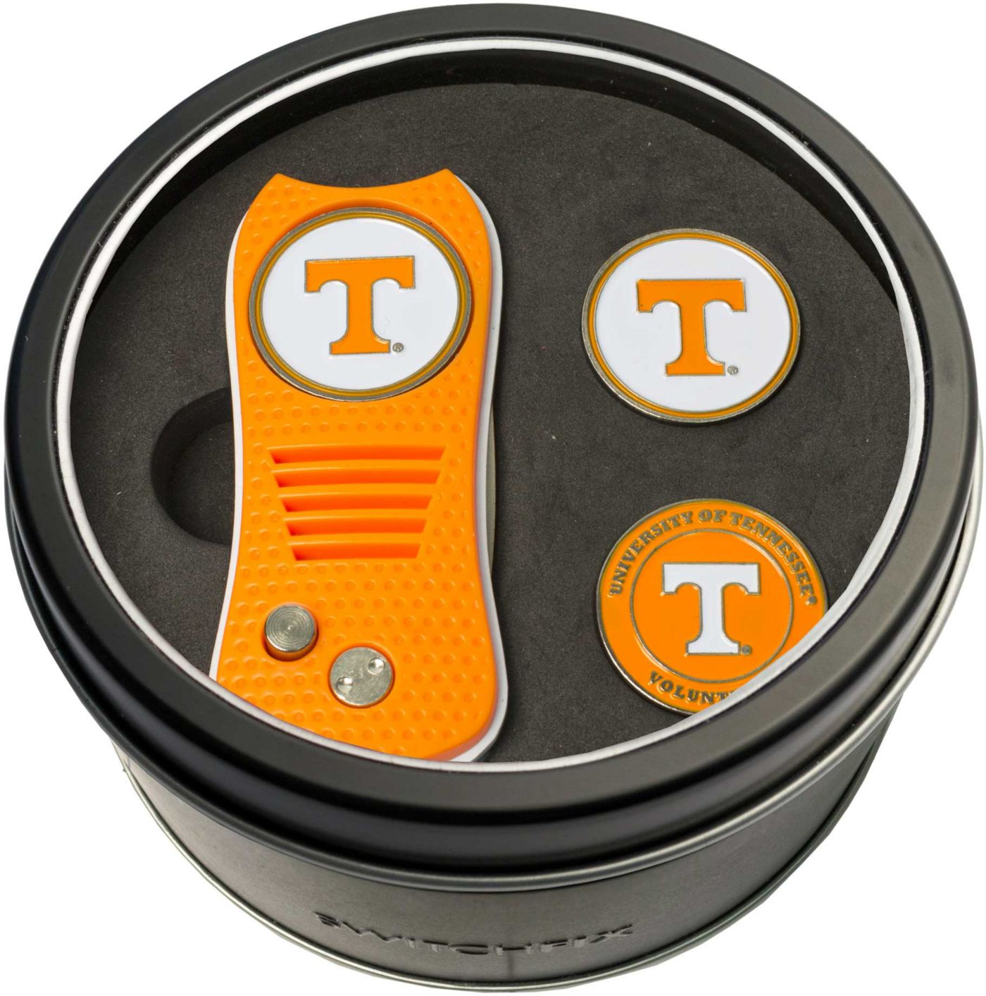 Team Golf Tennessee Volunteers Switchfix Divot Tool and Ball Markers Set