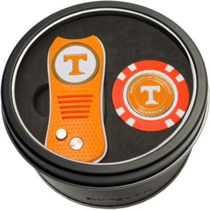 Team Golf Tennessee Volunteers Switchfix Divot Tool and Poker Chip Ball Marker Set