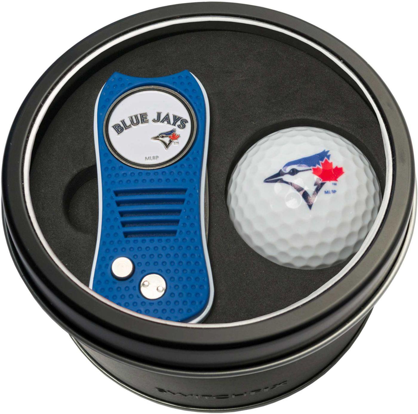 Team Golf Toronto Blue Jays Switchfix Divot Tool and Golf Ball Set