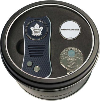 Team Golf Toronto Maple Leafs Switchfix Divot Tool and Cap Clip Set