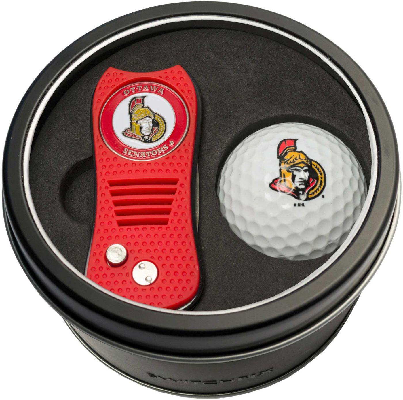 Team Golf Ottawa Senators Switchfix Divot Tool and Golf Ball Set