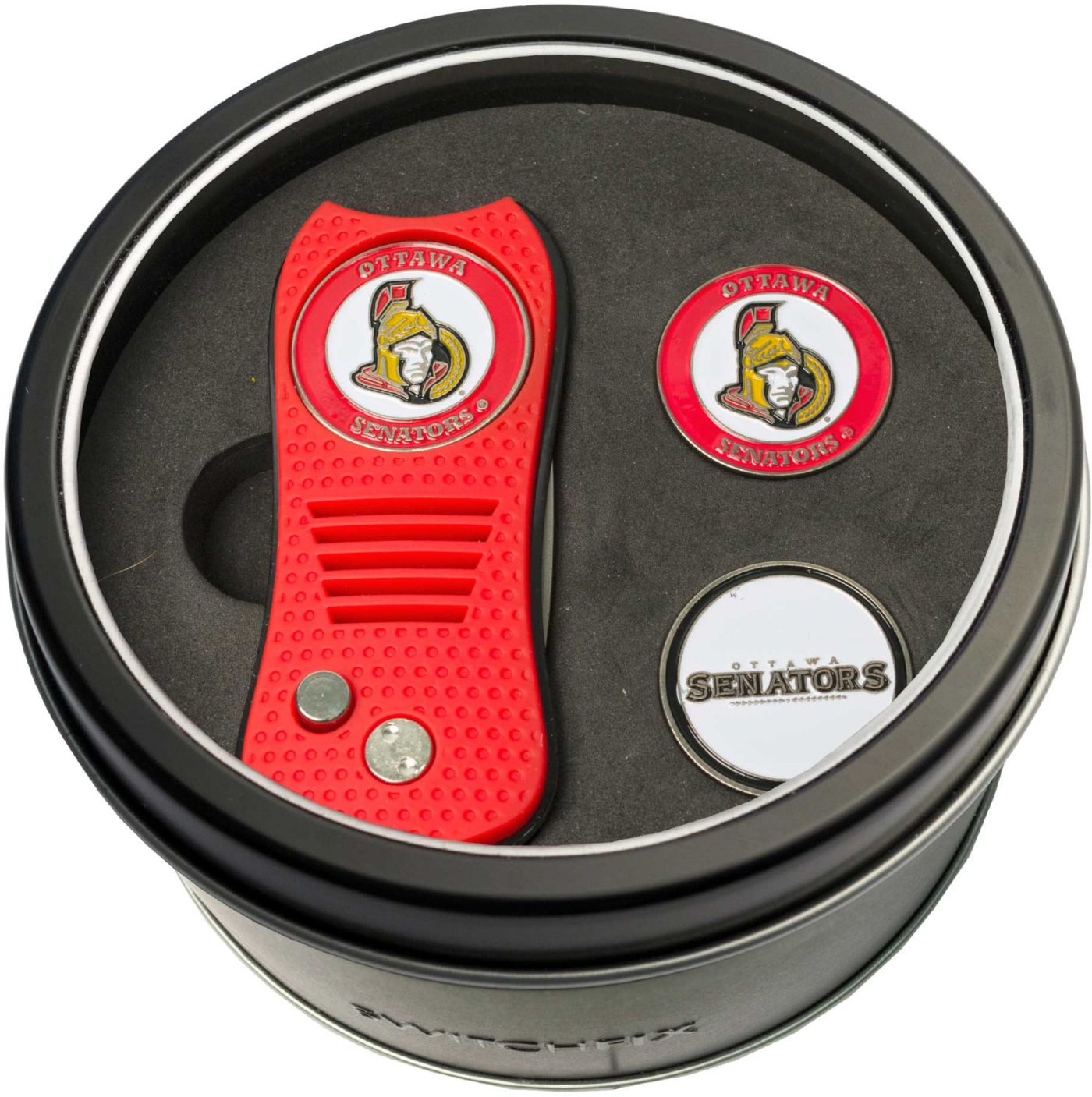 Team Golf Ottawa Senators Switchfix Divot Tool and Ball Markers Set