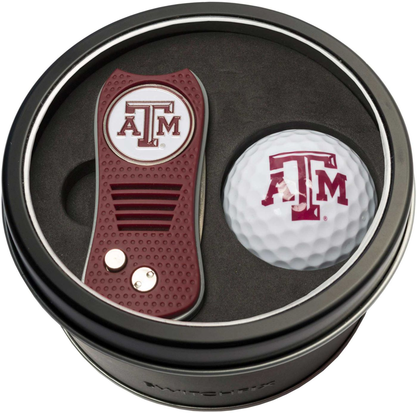 Team Golf Texas A&M Aggies Switchfix Divot Tool and Golf Ball Set