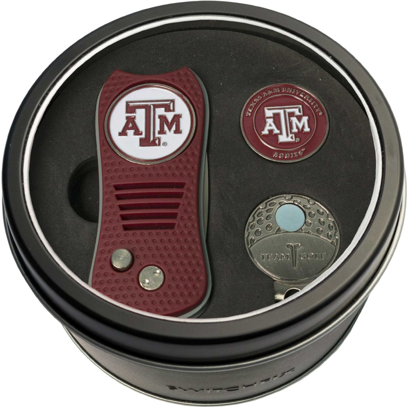 Team Golf Texas A&M Aggies Switchfix Divot Tool and Cap Clip Set