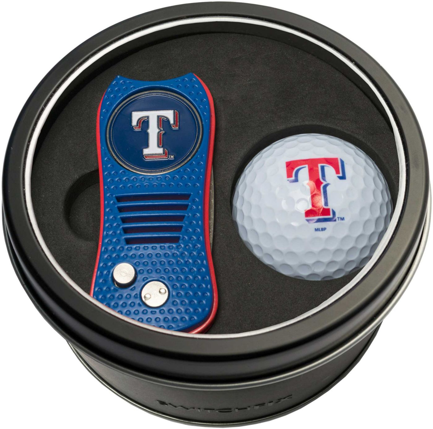Team Golf Texas Rangers Switchfix Divot Tool and Golf Ball Set