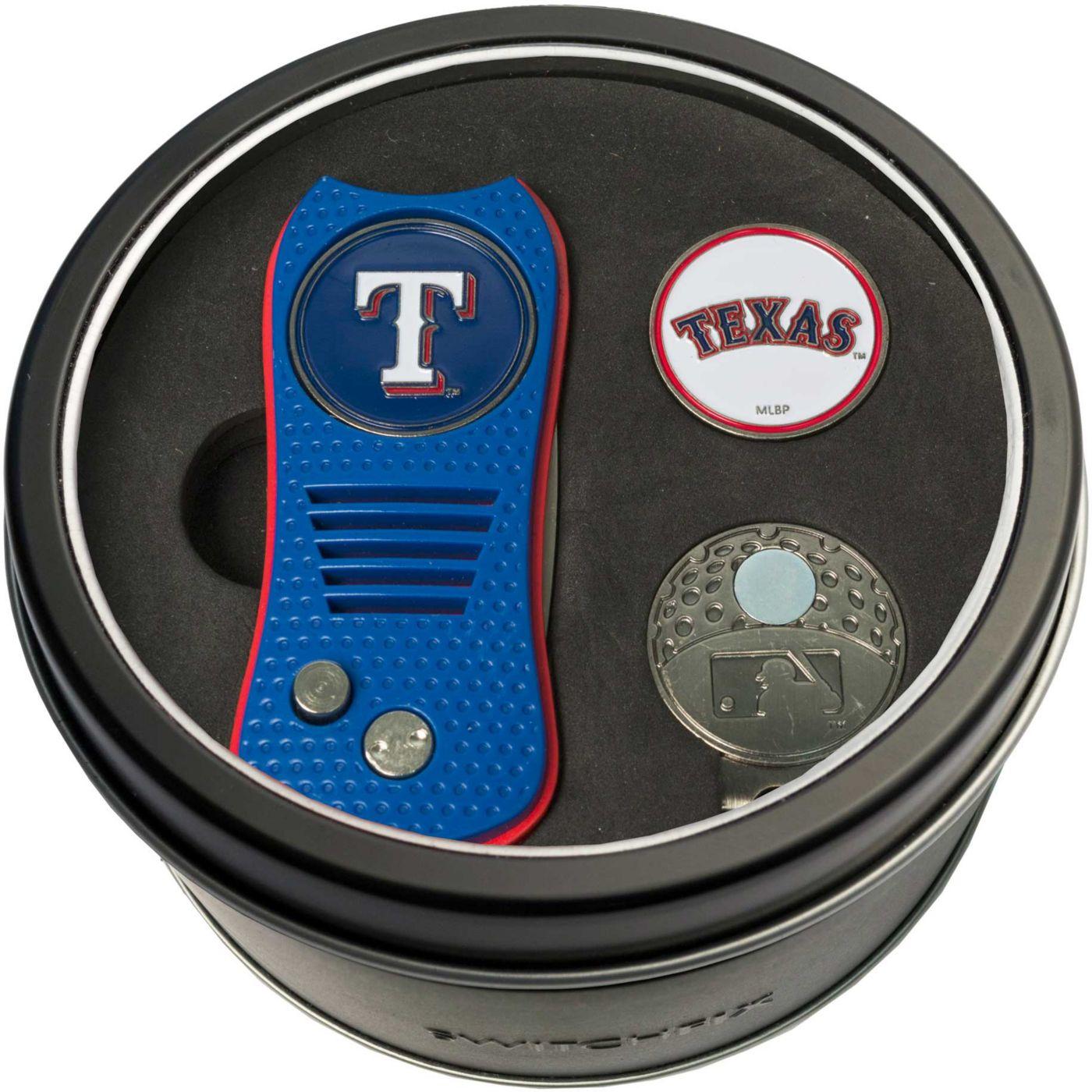Team Golf Texas Rangers Switchfix Divot Tool and Cap Clip Set
