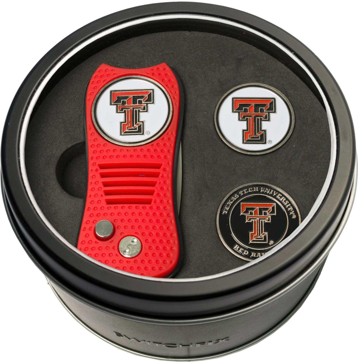 Team Golf Texas Tech Red Raiders Switchfix Divot Tool and Ball Markers Set