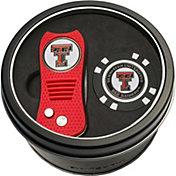 Team Golf Texas Tech Red Raiders Switchfix Divot Tool and Poker Chip Ball Marker Set