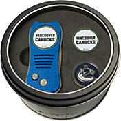 Team Golf Vancouver Canucks Switchfix Divot Tool and Ball Markers Set