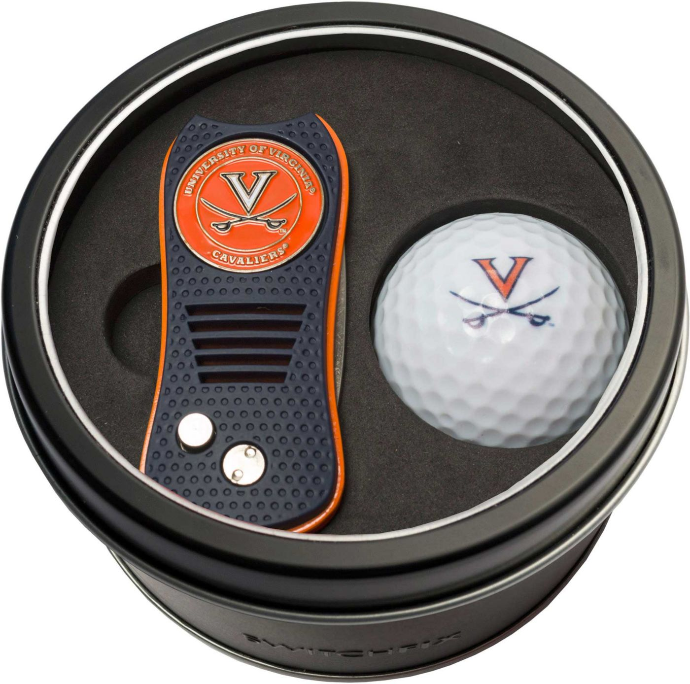Team Golf Virginia Cavaliers Switchfix Divot Tool and Golf Ball Set