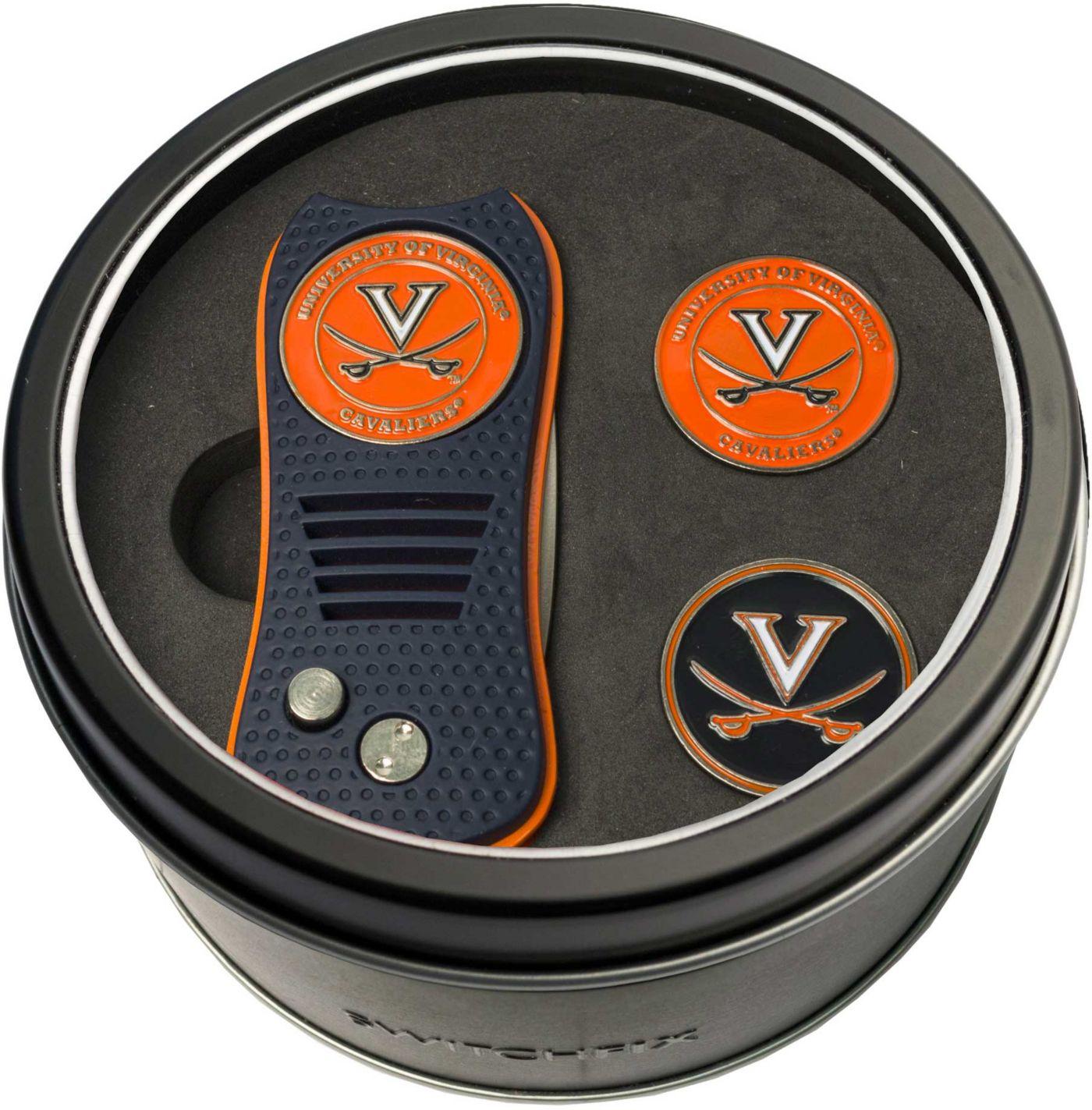 Team Golf Virginia Cavaliers Switchfix Divot Tool and Ball Markers Set