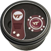 Team Golf Virginia Tech Hokies Switchfix Divot Tool and Poker Chip Ball Marker Set
