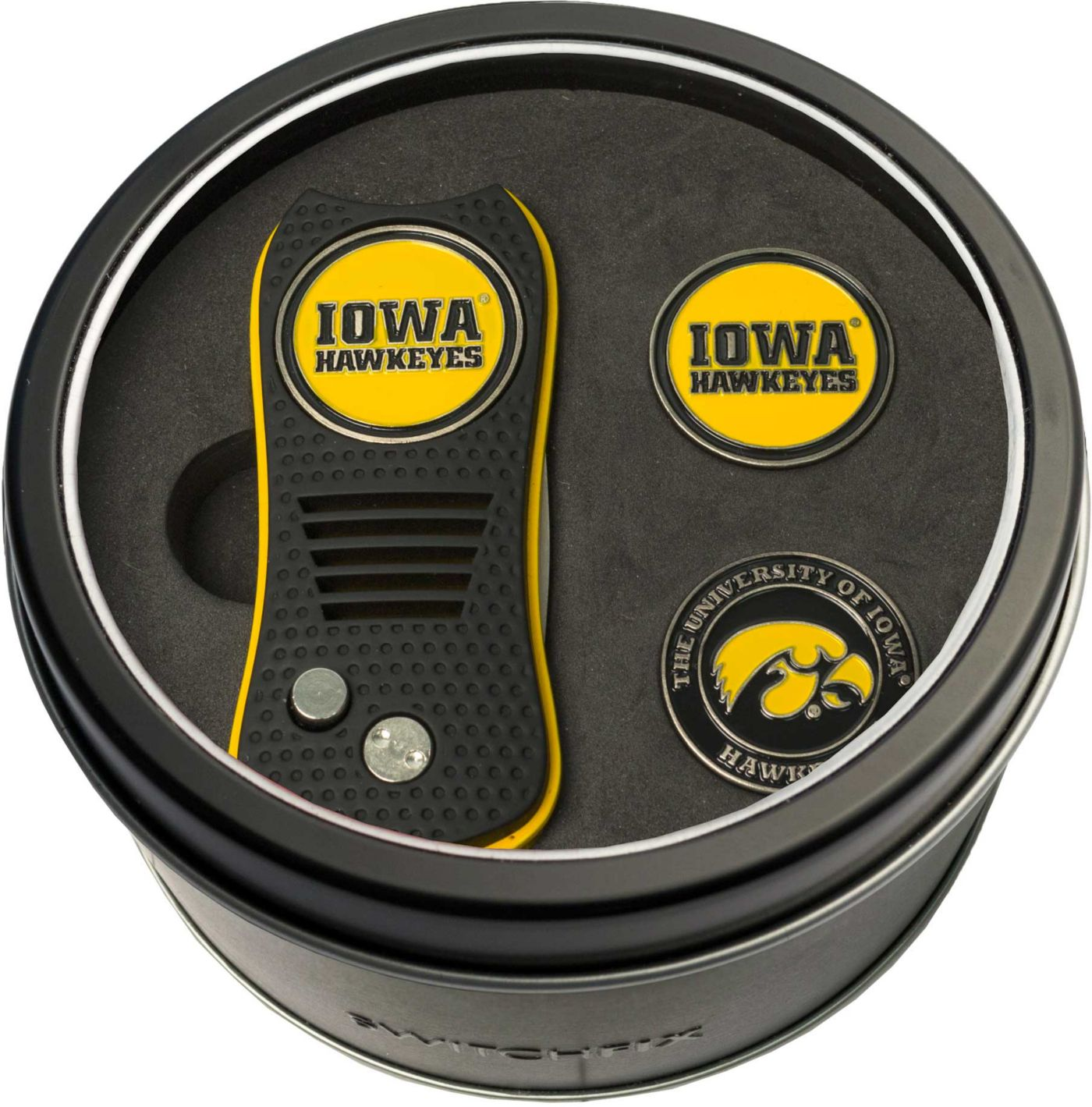Team Golf Iowa Hawkeyes Switchfix Divot Tool and Ball Markers Set