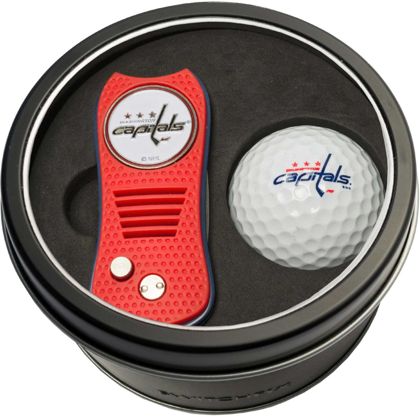 Team Golf Washington Capitals Switchfix Divot Tool and Golf Ball Set