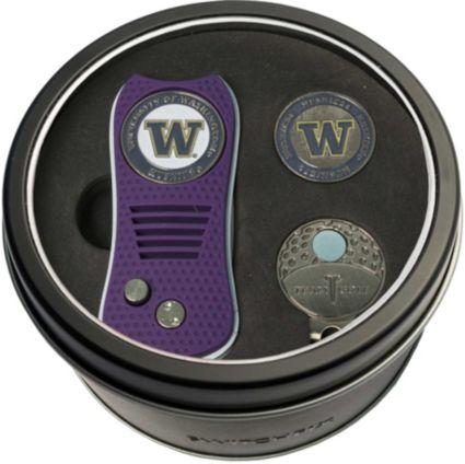 Team Golf Washington Huskies Switchfix Divot Tool and Cap Clip Set