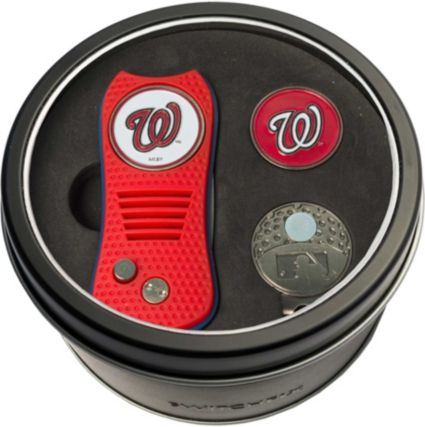 Team Golf Washington Nationals Switchfix Divot Tool and Cap Clip Set