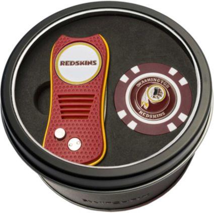 Team Golf Washington Redskins Switchfix Divot Tool and Poker Chip Ball Marker Set
