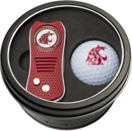 Team Golf Washington State Cougars Switchfix Divot Tool and Golf Ball Set