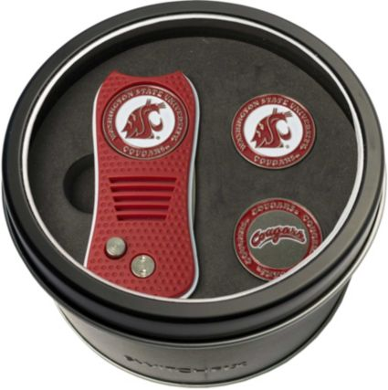 Team Golf Washington State Cougars Switchfix Divot Tool and Ball Markers Set