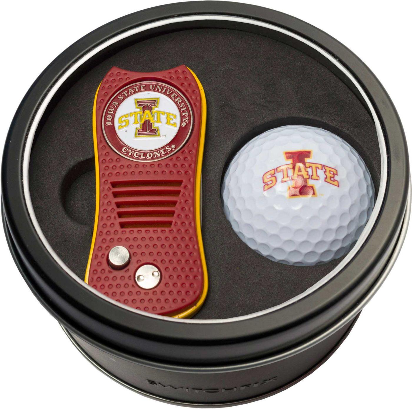 Team Golf Iowa State Cyclones Switchfix Divot Tool and Golf Ball Set