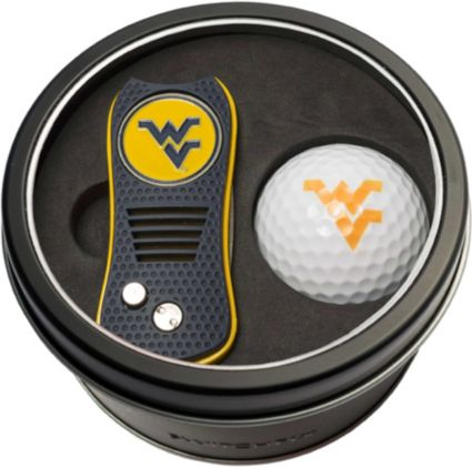 Team Golf West Virginia Mountaineers Switchfix Divot Tool and Golf Ball Set