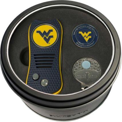 Team Golf West Virginia Mountaineers Switchfix Divot Tool and Cap Clip Set