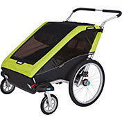Thule Chariot Cheetah XT 2 Double Bike Trailer and Stroller