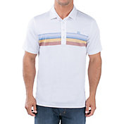 TravisMathew Men's 3 Wolves Golf Polo