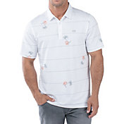 TravisMathew Men's Squid Roe Golf Polo