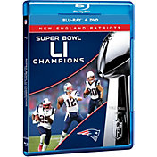 Super Bowl LI Champions New England Patriots Blu-ray and DVD