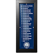 New York Yankees Derek Jeter Jersey Retirement Stat Countdown Framed Print