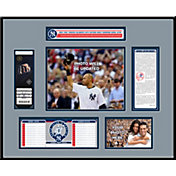 New York Yankees Derek Jeter Jersey Retirement Ticket Frame
