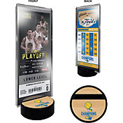 That's My Ticket 2017 NBA Finals Champions Golden State Warriors Commemorative Ticket Stand