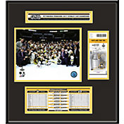 2017 Stanley Cup Champions Pittsburgh Penguins Ticket Frame Jr.