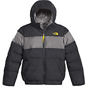 The North Face Boys' Moondoggy 2.0 Down Hooded Jacket