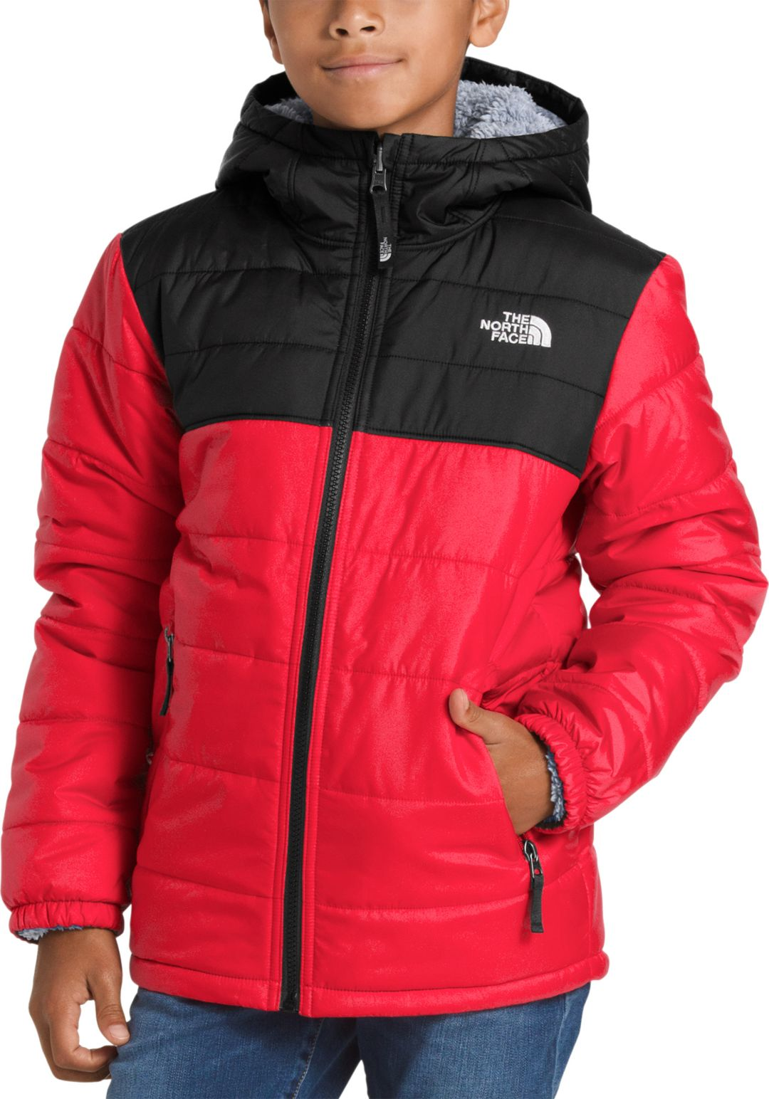addc8edc67af The North Face Boys  Mount Chimborazo Reversible Hoodie 1