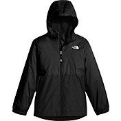 The North Face Boys' Warm Storm Rain Jacket in BLACK 2