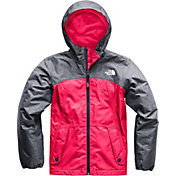 The North Face Girls' Warm Storm Rain Jacket in Atomic Pink