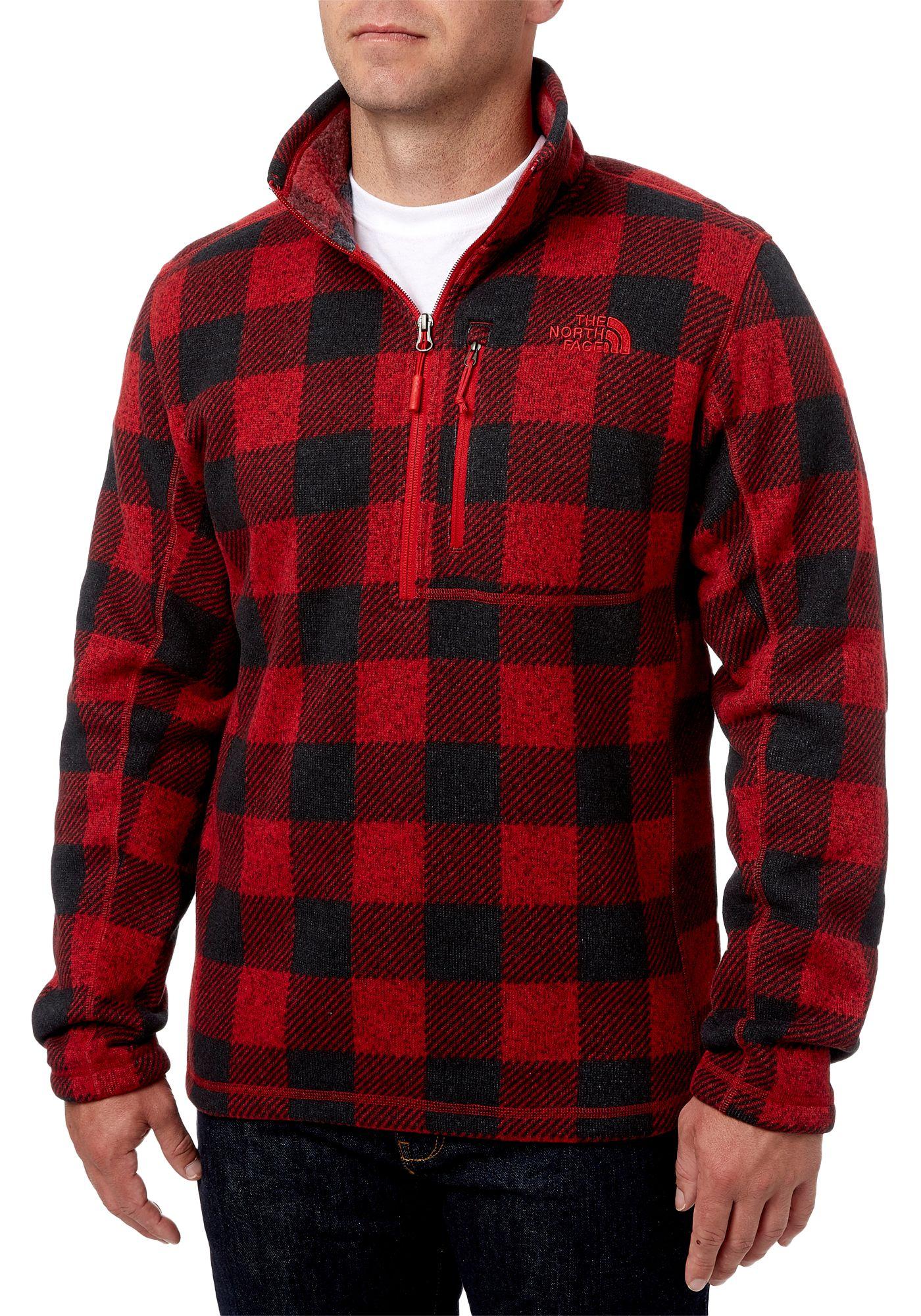 The North Face Men's Novelty Gordon Lyons 1/4 Zip Fleece Pullover