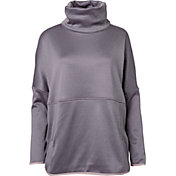 The North Face Women's Heathered Agave Poncho - Past Season