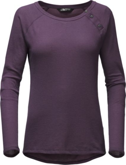 The North Face Womens Cresting Long Sleeve Shirt Field Stream