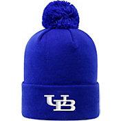Top of the World Men's Buffalo Bulls Blue Pom Knit Beanie